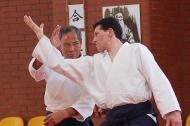 Yoji Fujimoto 7 dan 30-lecie aikido w Wałbrzychu 14-15 kwietnia 2007